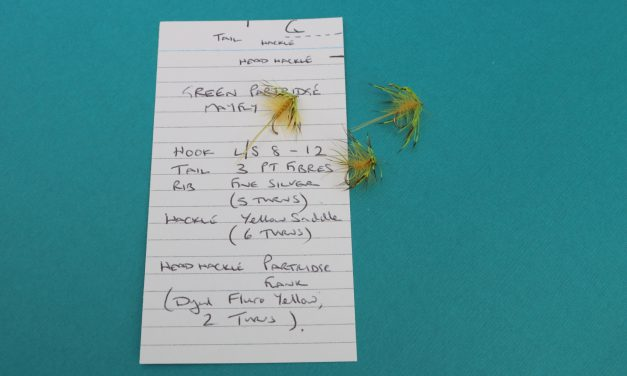 How to achieve consistency in Fly tying.